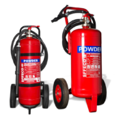 SFFECO ABC-Powder-Mobile-Trolley-Extinguishers