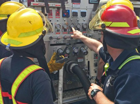 CMI trains students for voluntary community firefighting, emergency response